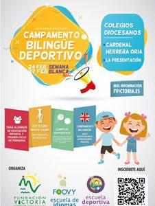 CAMPAMENTO BILINGÜE DEPORTIVO SEMANA BLANCA 2020